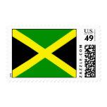 Jamaica Flag Postage Stamp