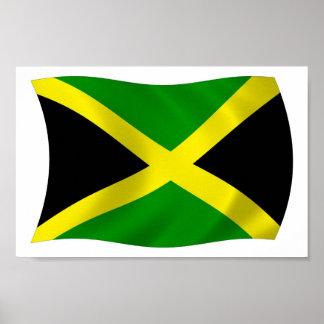 Jamaica Flag Poster Print