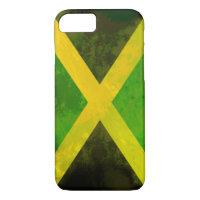 Jamaica flag - reggae roots iPhone 7 case
