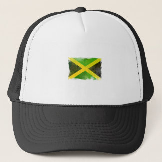 jamaica flag - reggae roots trucker hat