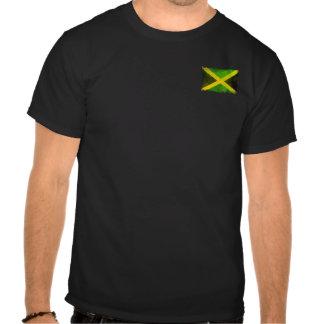 jamaica flag - reggae roots tshirts