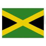 Jamaica Flag Stationery Note Card