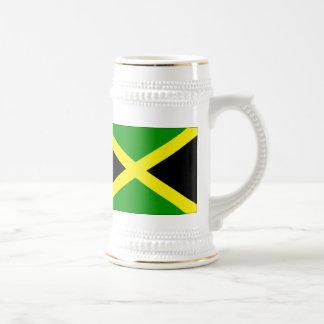 Jamaica Flag stein 18 Oz Beer Stein