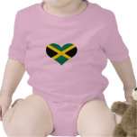 Jamaica flag tee shirt