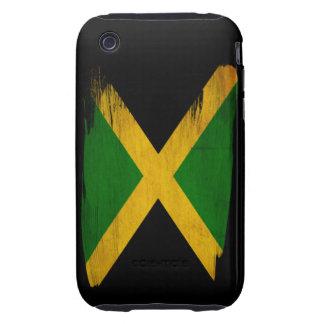 Jamaica Flag Tough iPhone 3 Case