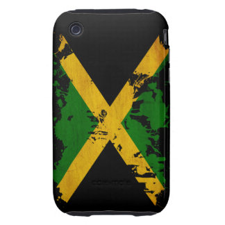 Jamaica Flag Tough iPhone 3 Cover