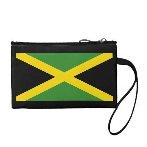 Jamaica Flag wristlet