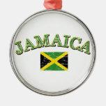 Jamaica football design ornament