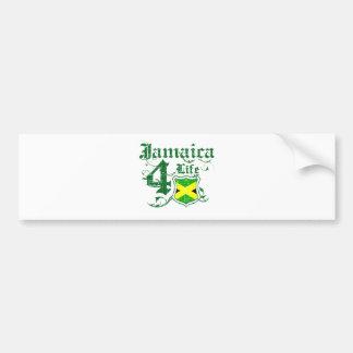 Jamaica for life bumper sticker