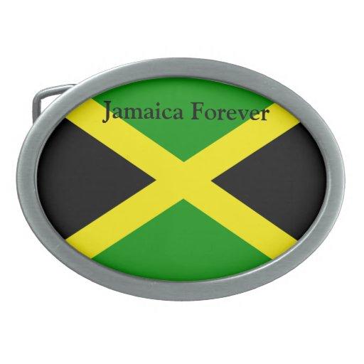 Jamaica Forever Belt Buckle
