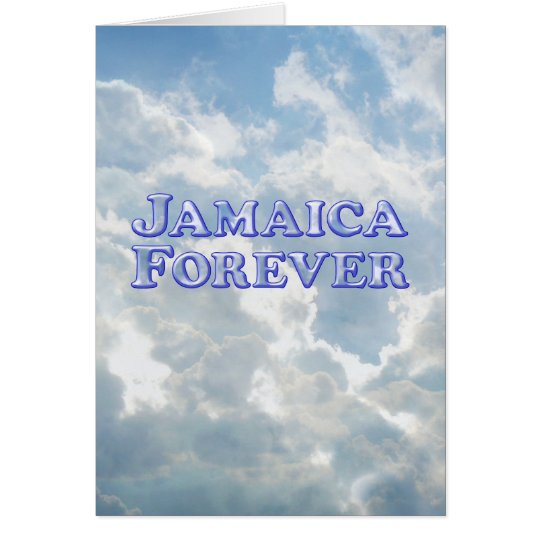 Jamaica Forever - Bevel Basic Card
