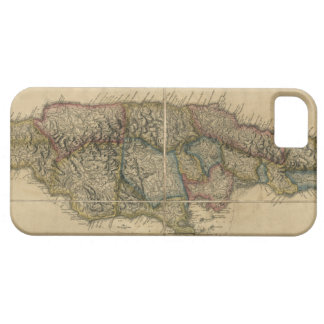 Jamaica from the latest Surveys Map (1775) iPhone 5 Cases