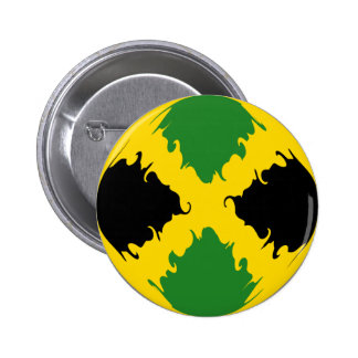 Jamaica Gnarly Flag Button