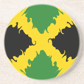 Jamaica Gnarly Flag Coaster