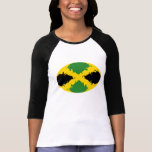 Jamaica Gnarly Flag T-Shirt