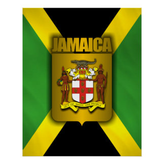 Jamaica Gold Label Posters & Prints Poster