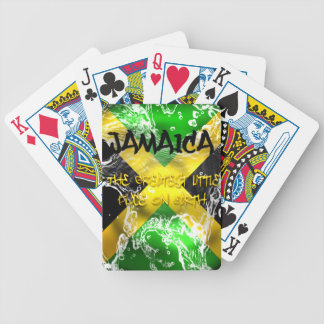 Jamaica..Greatest Little Place on Earth Cards Bicycle Playing Cards