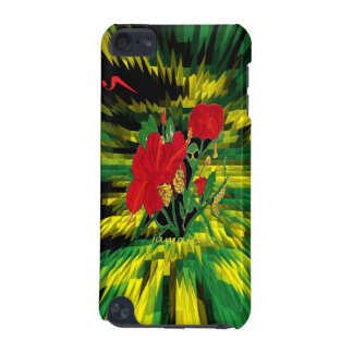Jamaica Hibiscus ipod Protective Case iPod Touch 5G Cases