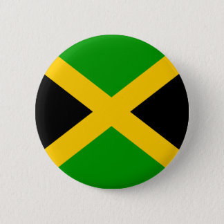 Jamaica High quality Flag Pinback Button