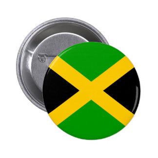 Jamaica High quality Flag Pinback Button