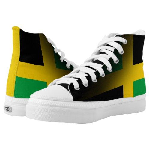 Jamaica High Top Zipz Custom Shoe