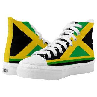 Jamaica flag canvas shoes printed shoes zazzle jamaica high top zipz custom shoe voltagebd Gallery
