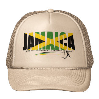 Jamaica Home of the Fastest Man on the Planet Hat
