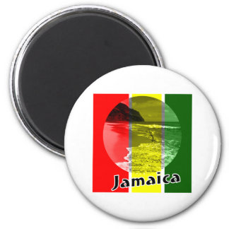 Jamaica Imán Redondo 5 Cm