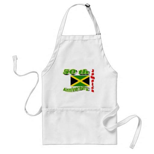 Jamaica independence aprons