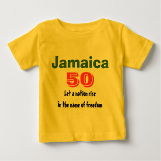 jamaica independence baby t-shirts