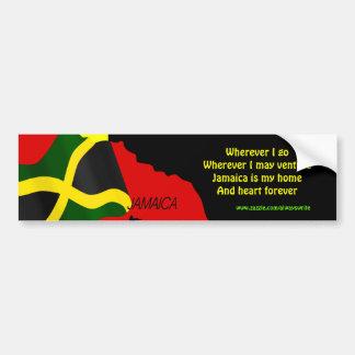 Jamaica independence bumper stickers