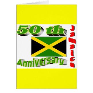 Jamaica independence card