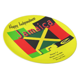 jamaica independence day plates
