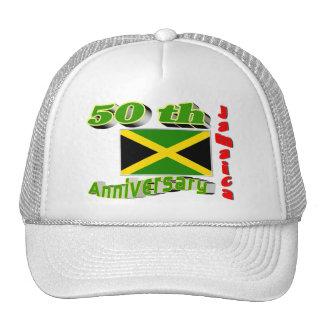 Jamaica independence trucker hats