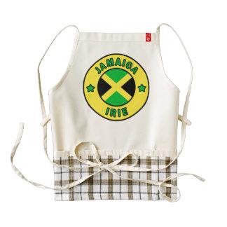 Jamaica Irie Delantal Zazzle HEART