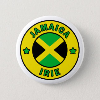 Jamaica Irie Pinback Button
