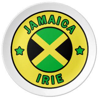 Jamaica Irie Plate