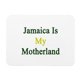 Jamaica Is My Motherland Rectangular Photo Magnet