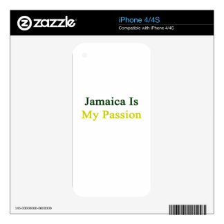 Jamaica Is My Passion iPhone 4 Skins