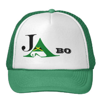 Jamaica JA BO Green Trucker Hat