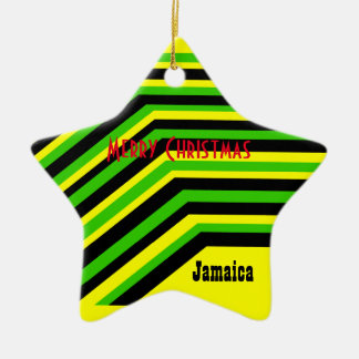 Jamaica jamaica ceramic ornament