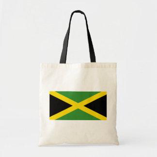 Jamaica, Jamaica flag Budget Tote Bag