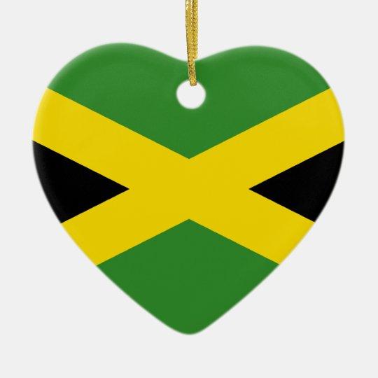 Jamaica, Jamaica flag Ceramic Ornament