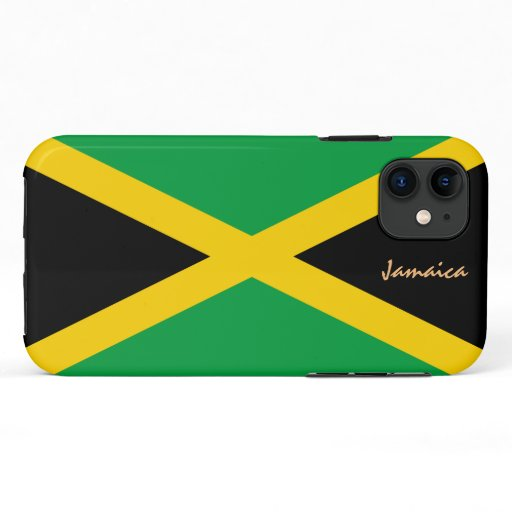 Jamaica & Jamaican Flag fashion, travel /sports iPhone 11 Case