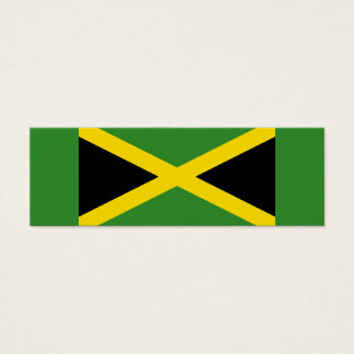 Jamaica – Jamaican Flag Small Bookmarks Mini Business Card