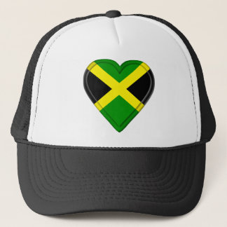 Jamaica Jamaican flag Trucker Hat