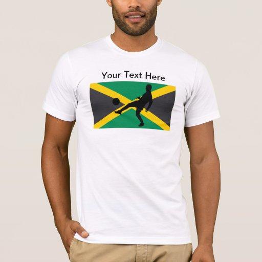 Jamaica Jamaican Soccer - Football Player T-Shirt