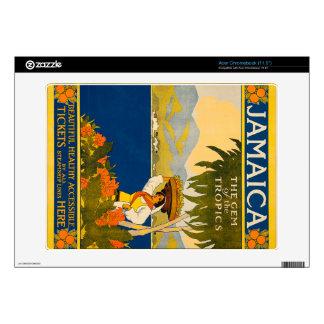 Jamaica, la gema de las zonas tropicales calcomanía para acer chromebook