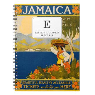 Jamaica, la gema de las zonas tropicales libretas espirales