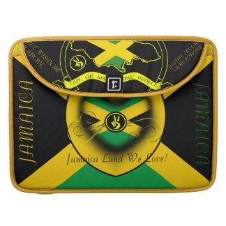 Jamaica Land We Love 15 inch Sleeves For MacBook Pro